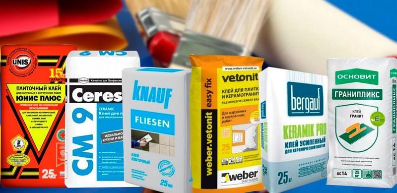 Для укладки плитки нужно выбирать клей, обладающий высококачественными параметрами