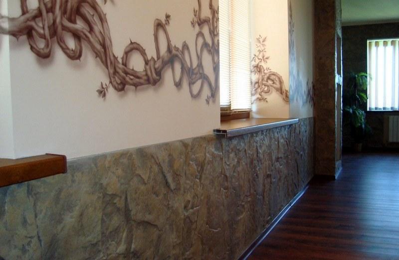 «Граффито» – штукатурный состав на минеральной основе, который легко разводится, не требует специальных навыков при нанесении
