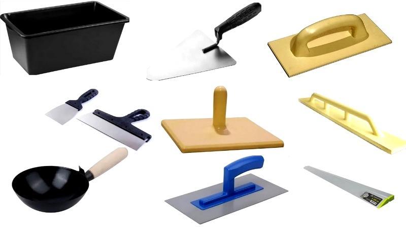Инструменты для проведения штукатурных работ