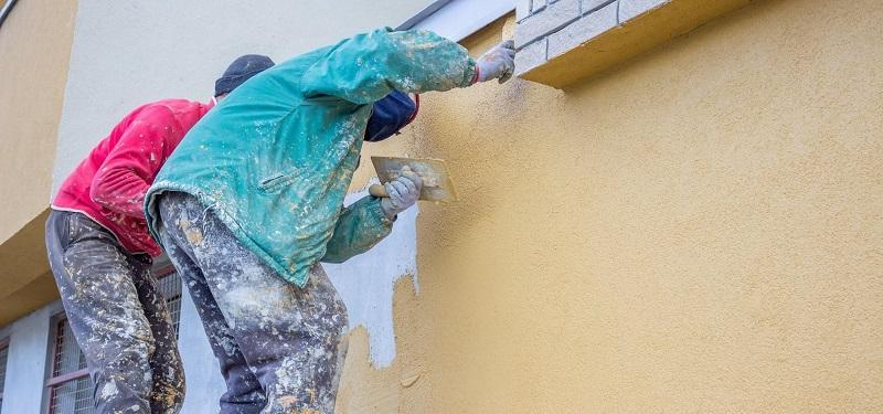 Качество штукатурных работ при низких температурах зависит от соблюдения специальных требований