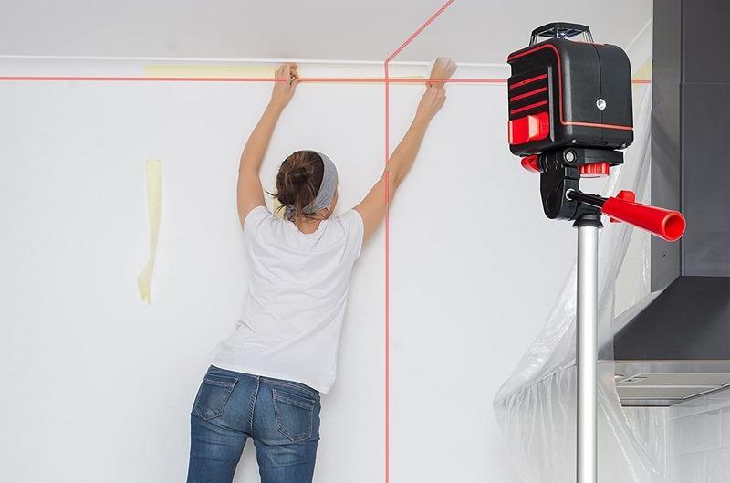 Лазерный нивелир улучшит качество строительных работ, уменьшит время их проведения