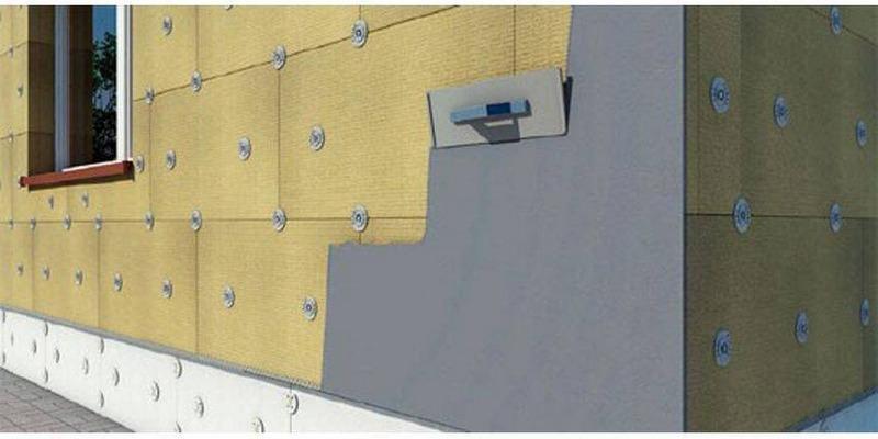 Мокрая штукатурка является одним из вариантов утепления фасада