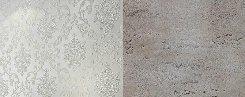 Обои и декоративная штукатурка изготавливаются из экологически чистых материалов