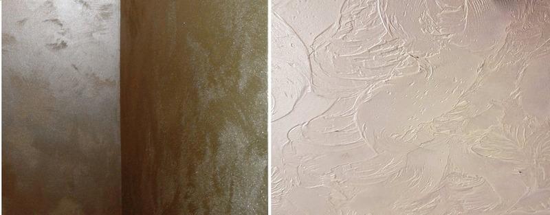 Продолжительность высыхания декоративной штукатурки зависит от фактурности покрытия