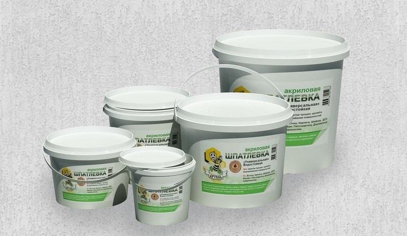 Шпаклевочные смеси на полимерной основе могут применяться и для наружных, и для внутренних работ