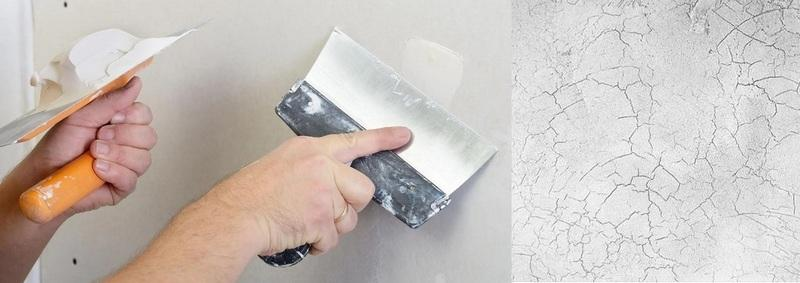 Штукатурный слой, выполненый цементно - гипсовой смесью, через некоторое время покроется паутиной мелких трещин