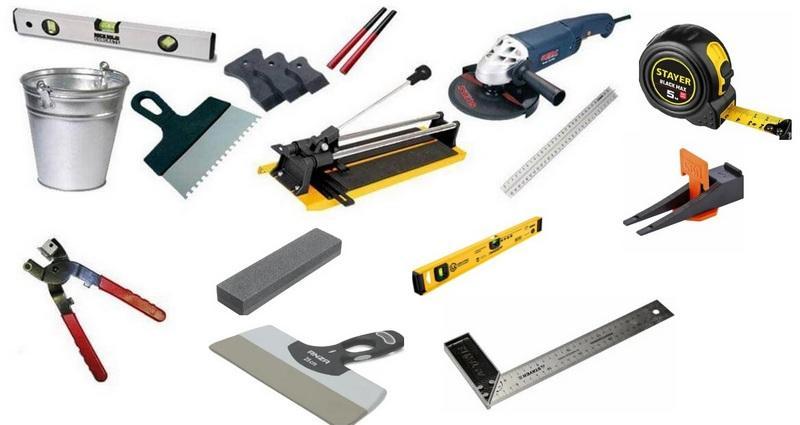 Специальные инструменты для укладки плитки