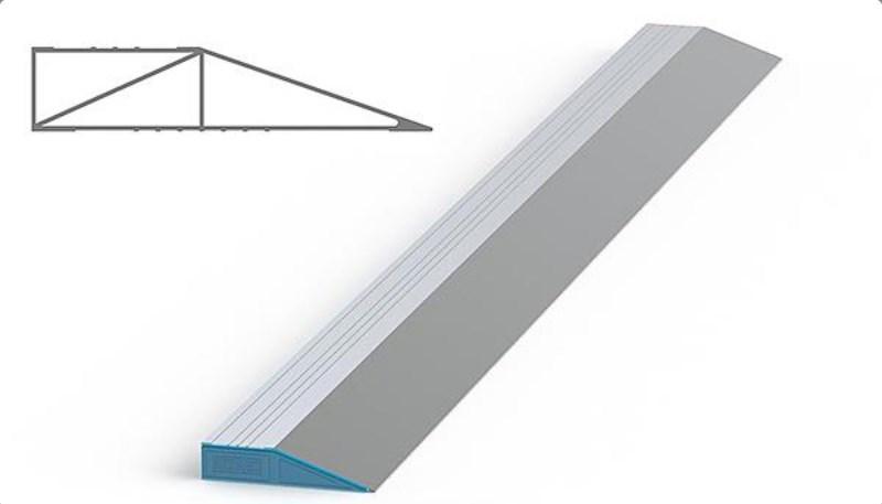 Трапециевидная модель строительного правила – наиболее популярная и недорогая
