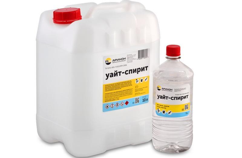 Уайт-спирит - популярный растворитель, используемый для обезжиривания поверхностей