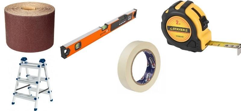 Вспомогательные инструменты, необходимые для работы