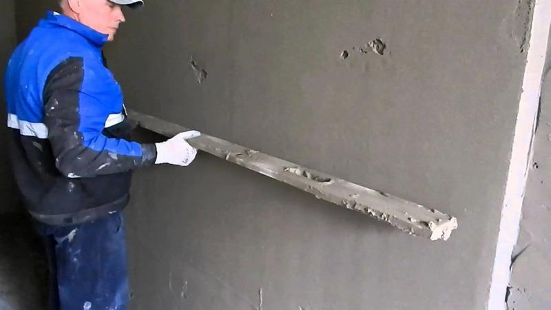 Выравнивание стен без направляющих можно проводить в помещениях, не отличающихся высокими требованиями