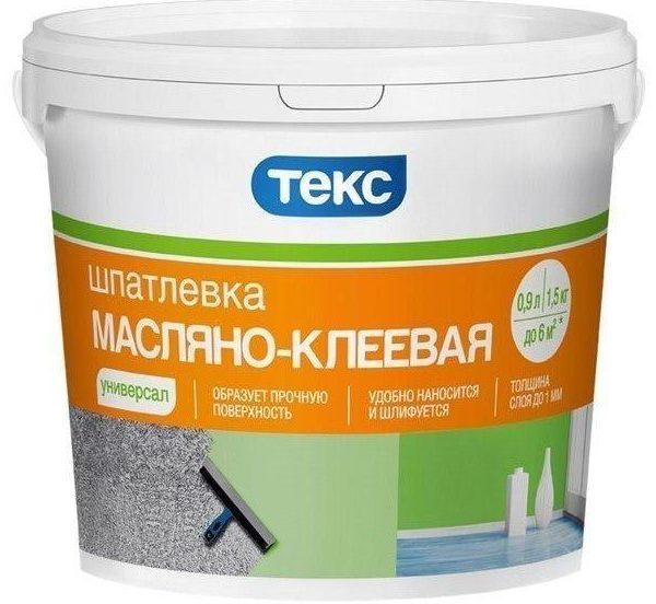 Масляно-клеевую шпаклевку применяют для выравнивания стен в нежилых помещениях