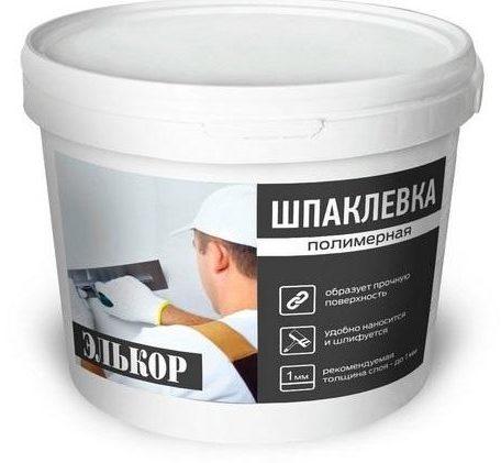 Полимерная шпаклевка используется для внутренних работ, обладает отличной прочностью и адгезией